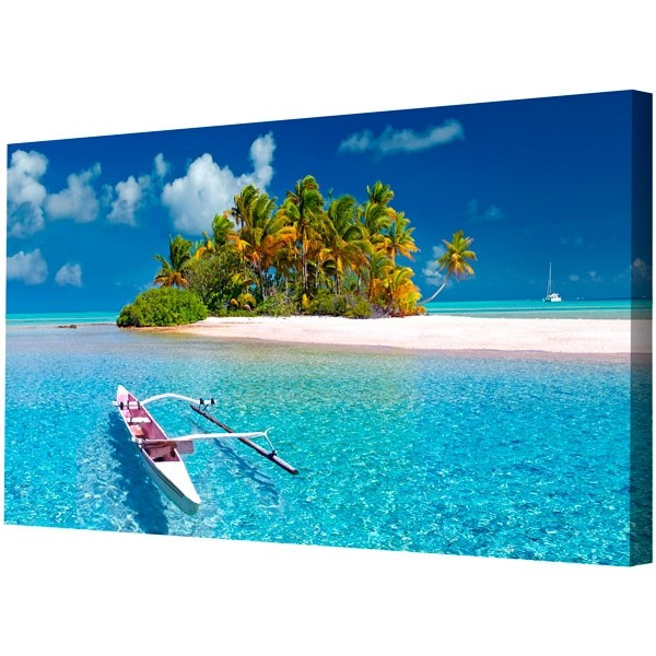 Framed canvas picture prints