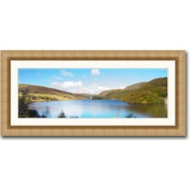 Framed panoramic photo prints