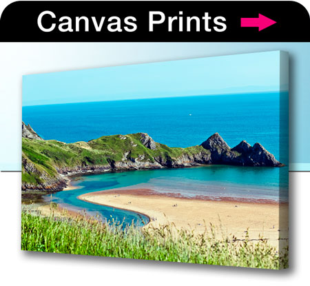 Canvas photo prints