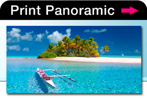 Panoramic prints, posters, canvas