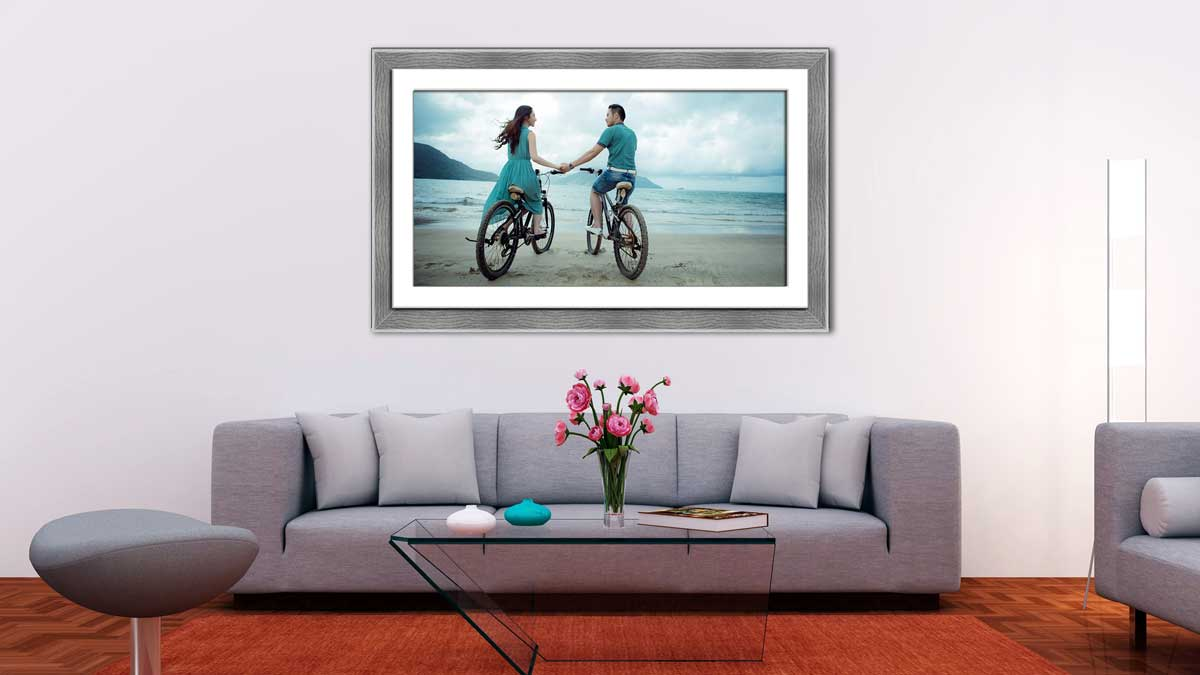 Framing Panoramic Photos, Frame & Print