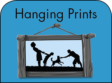 How to hang prints?
